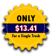 Only $8.90 for a single truck